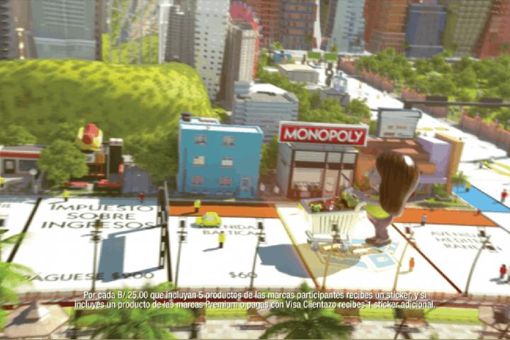 el machetazo monopoly anuncio