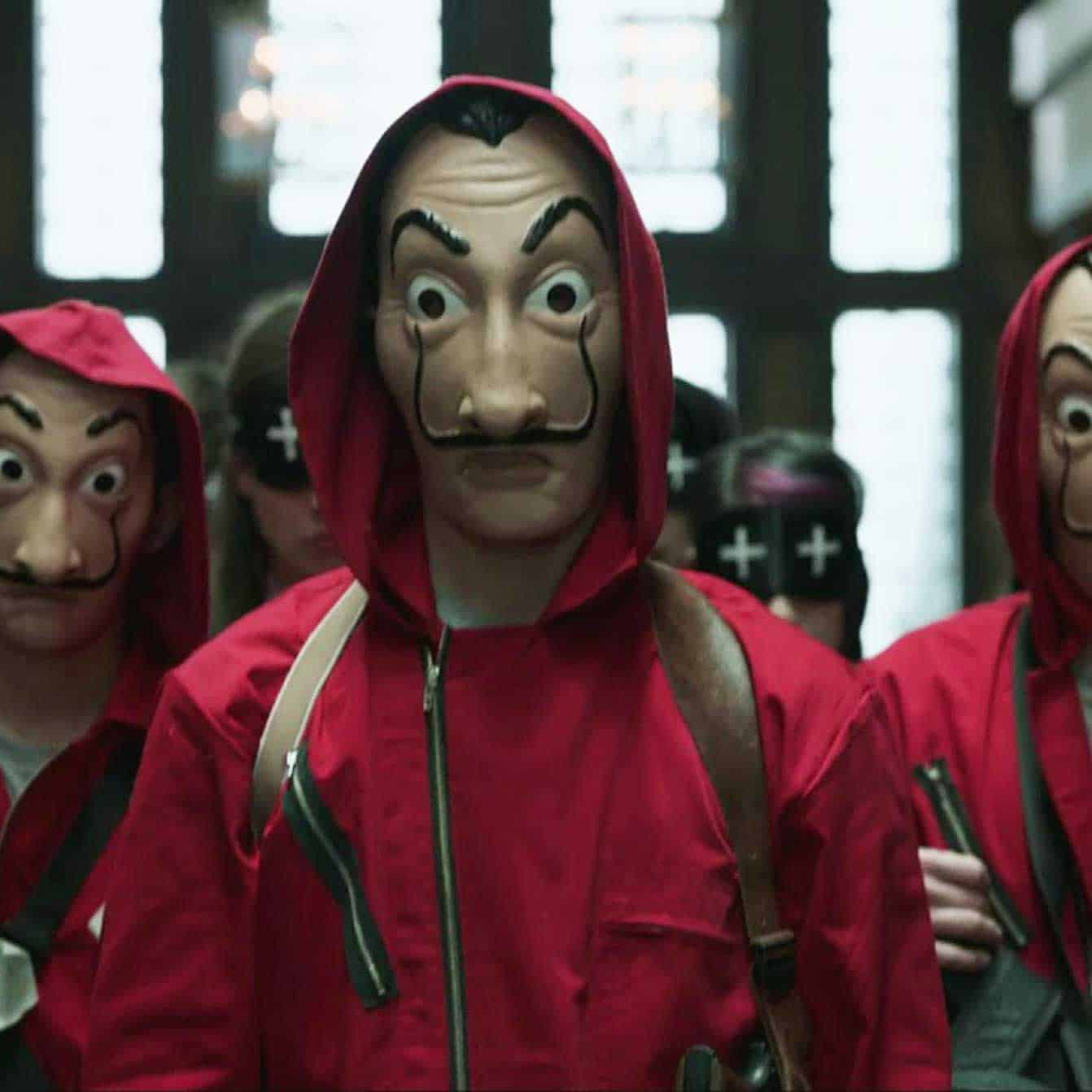 casa de papel mascaras